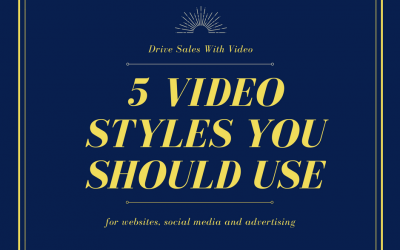 The 5 Video Types You Should Use