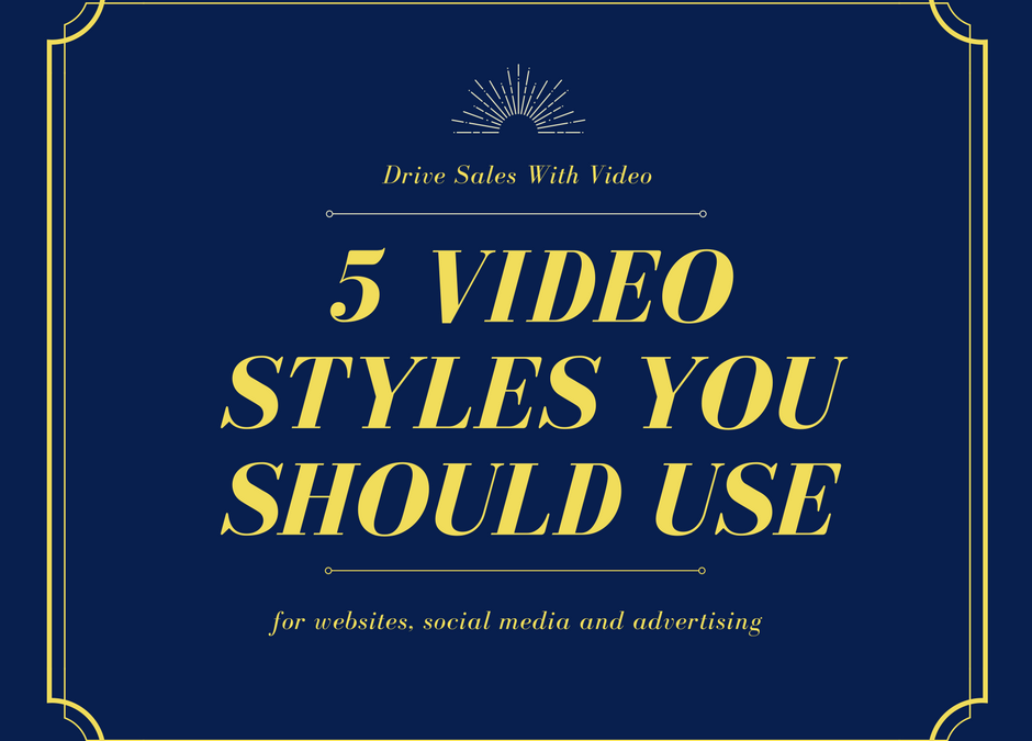 5 types of videos you need to know